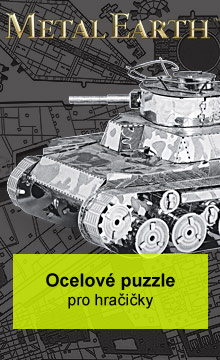 Metal Earth - ocelové puzzle