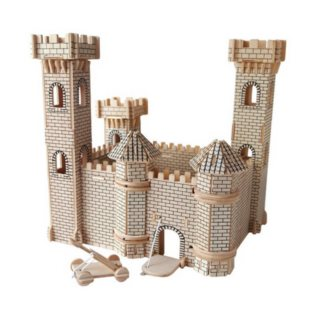 WOODEN TOY / WCK 3D puzzle Hrad