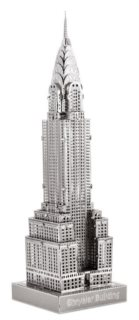 METAL EARTH 3D puzzle Chrysler Building (ICONX)