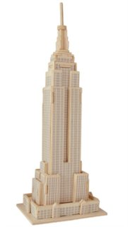 WOODEN TOY / WCK 3D puzzle Empire State Building