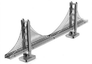 METAL EARTH 3D puzzle Most Golden Gate