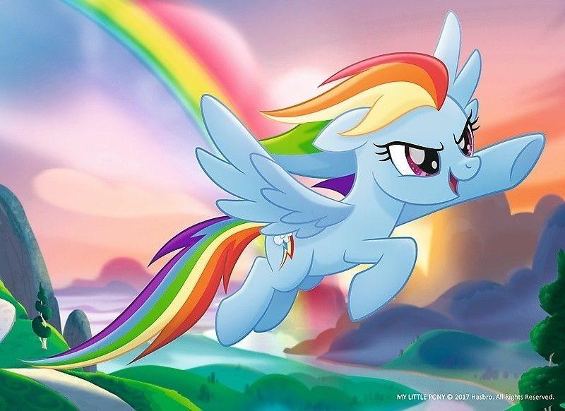 TREFL Puzzle My Little Pony: Rainbow Dash 20 dílků