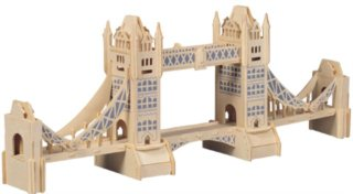 WOODEN TOY / WCK 3D puzzle Tower Bridge