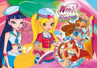 CLEMENTONI Puzzle Winx Club: My Fairy Friend 60 dílků