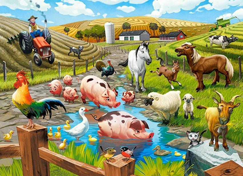 картинки животных с игры моя ферма