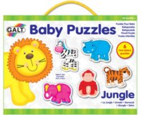 Baby puzzle Džungle 6x2 dílky