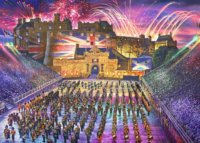 Puzzle Edinburgh Military Tattoo 1000 dílků