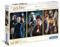 Puzzle Harry Potter 3x1000 dílků