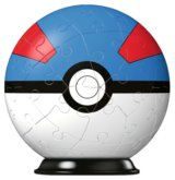 Puzzleball Pokémon: Greatball 54 dílků