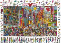 Puzzle Times Square - Everyone should go there 1000 dílků